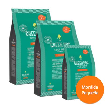 03e0569a8 ADULTOS – Mordida Pequeña – 2 Bolsas de 10 Kg + 1 Bolsa 3 Kg REGALO ...